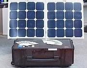 Sistema ibrido di generatore portatile solare e cella a combustibile polimerica che immagazzina l'energia sotto forma di idrogeno (da Genport)